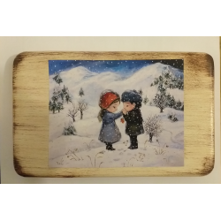láska v zimě